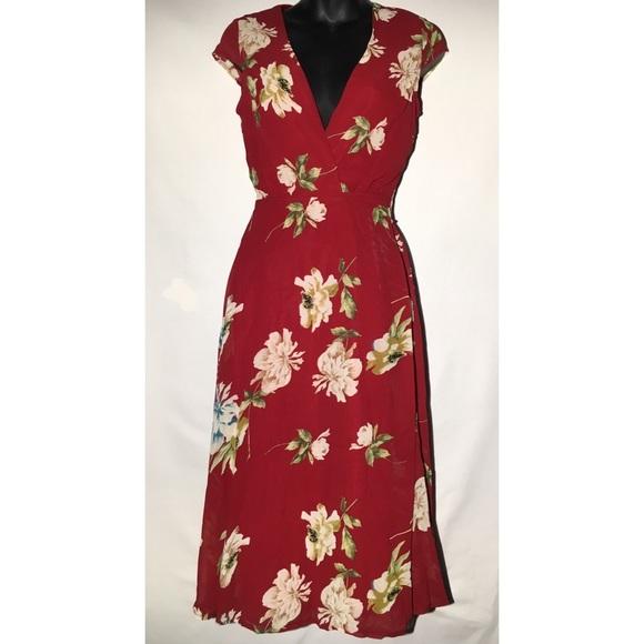 a3849daf795c Boohoo Dresses | Night Lorelai Floral Cap Sleeve Midi Dress | Poshmark